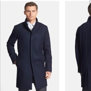 Theory Delancey Voedar Wool Cashmere coat